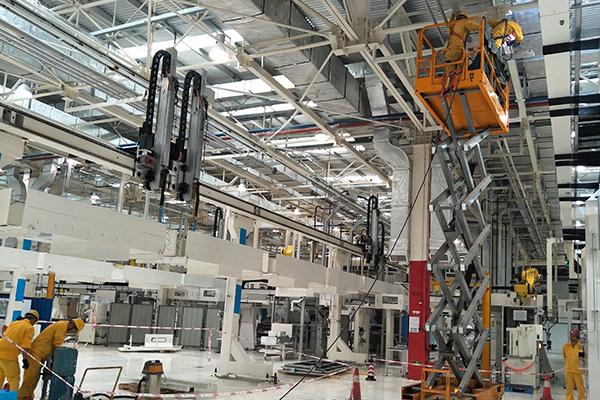 广汽菲克发动机部GSE项目安装改造工程