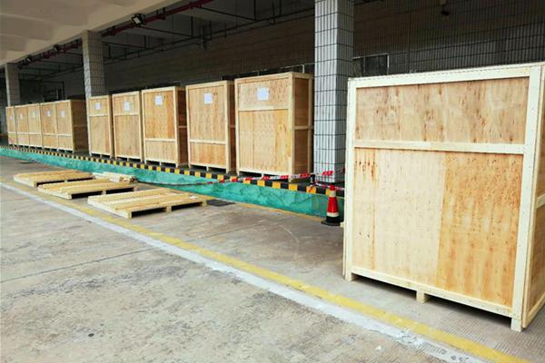 三星SMT乐天堂fun88手机包装装柜整厂搬迁服务