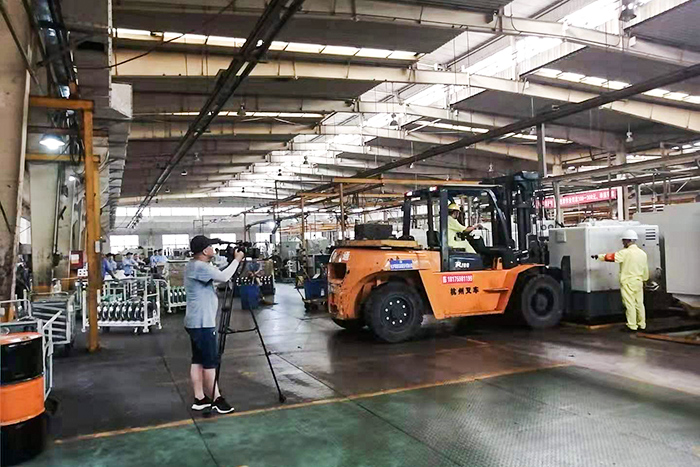 汉德车桥(株洲)齿轮有限公司工厂搬迁